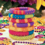 Mardi Gras Party Bangles (Mobile, AL)