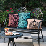 Wrought Iron Gate Pillows (Charleston, SC)