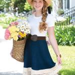 Farmer's Market Skirt (Fayetteville, AK)